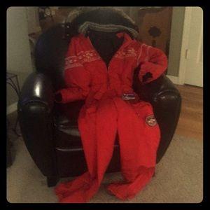 Women's Vintage Bogner ski suit size 6